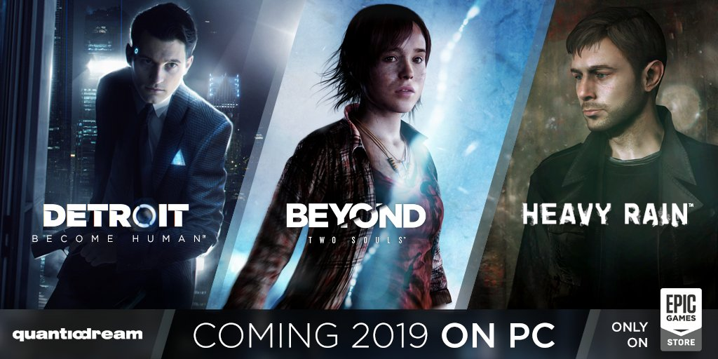 Quantic Dream lleva sus exclusivos de PlayStation a PC en la Epic Games Store